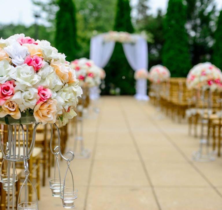 Ilustrasi acara pernikahan
