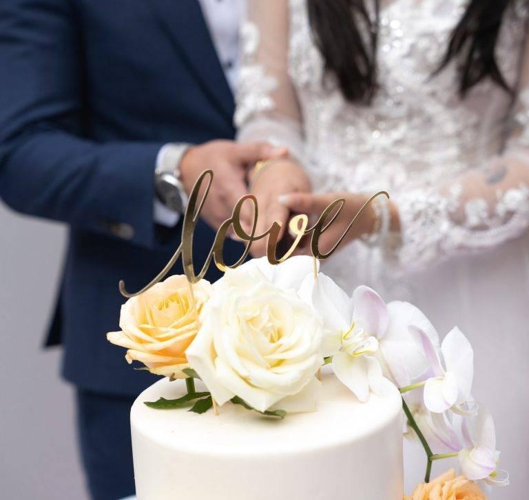 Kue pernikahan